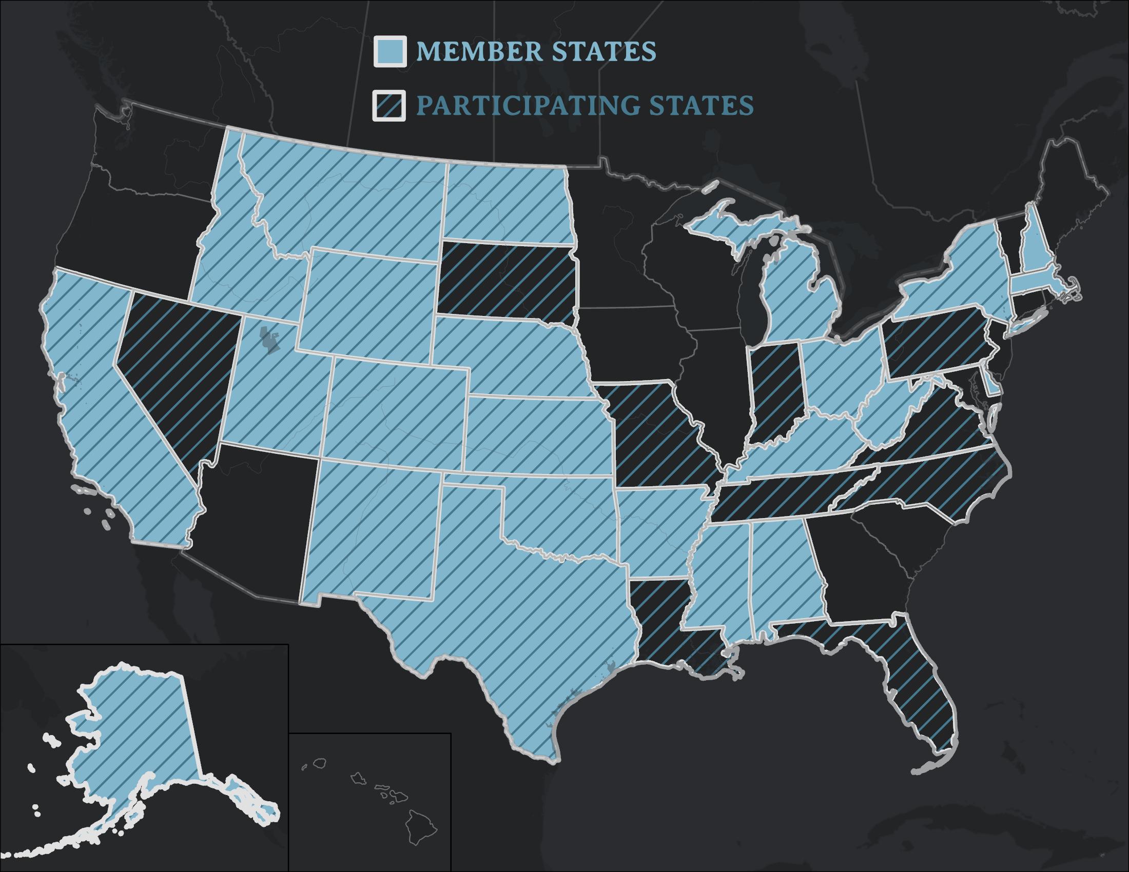 Member States Map